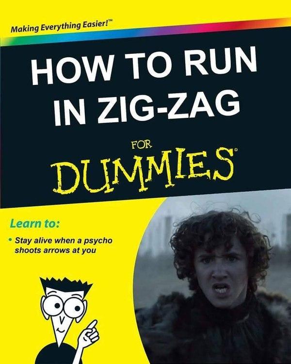 Как бегать зигзагом, для начинающих Игра престолов, Рикон Старк