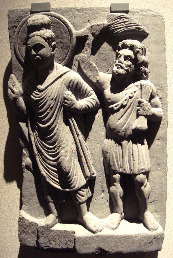 Однажды древние греки приняли буддизм и это — одна из самых странных историй в мире История, Буддизм, Греция, Длиннопост, Disgusting men