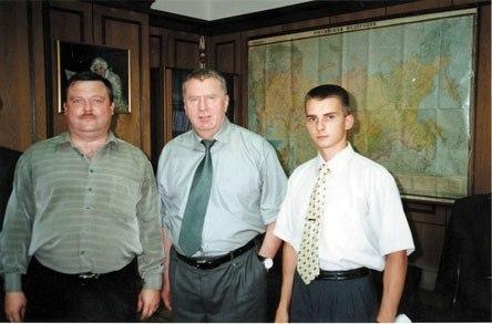 Михаил Круг и Владимир Жириновский, Россия, 1990–е. Михаил круг, Шансон, Россия, Девяно