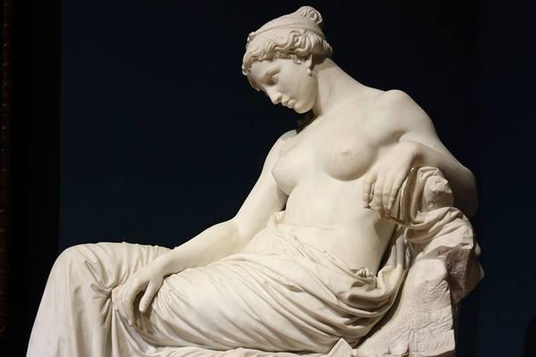 «Saffo abbandonata», Giovanni Dupre, Galleria Nazionale d'Arte Moderna, Rome, Italy, 1857-1861. мрамор, Academic Sculpture