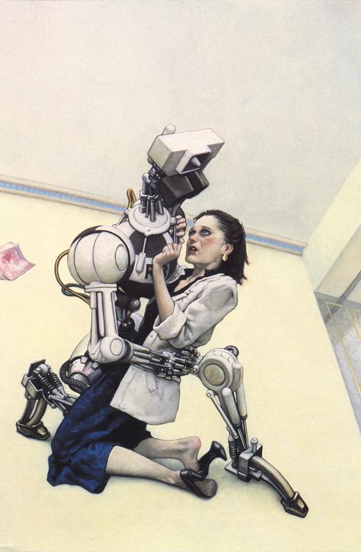 """""""Я, робот"""" Айзек Азимов Айзек Азимов, Иллюстрации, Картинки, Я робот, Длиннопост"""