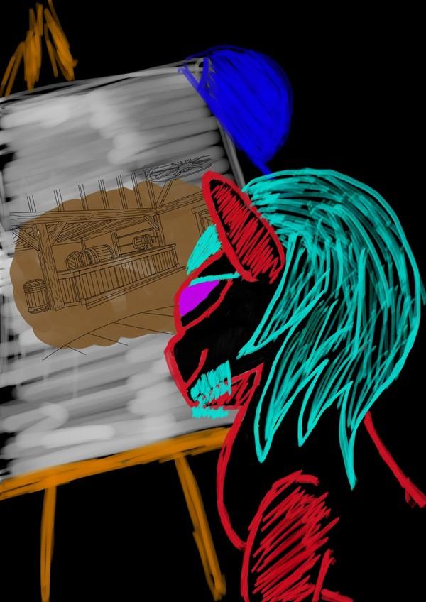DPC не DPC, или немного ночного дерпа 4 my little pony, DPC2, draw-pony-challenge, шалость