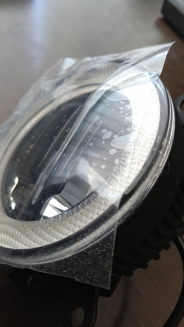 Установка двухсекционных светодиодных ПТФ с ДХО на MITSUBISHI ASX Авто, Свет, ПТФ, Освещение, Доработка, СТО, Сервис, Длиннопост