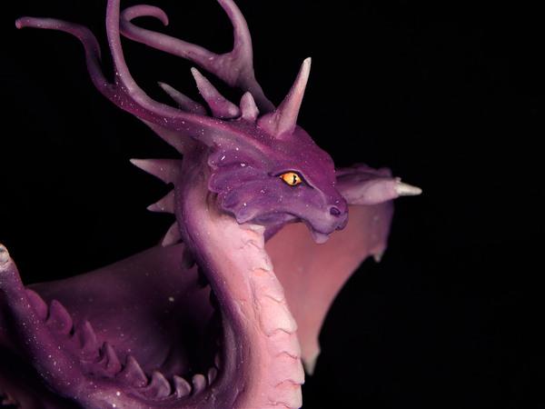 Дракон Волшебных Грёз или Гламурный Драконокот дракон, полимерная глина, рукоделие, Своими руками, моё, пятница, длиннопост