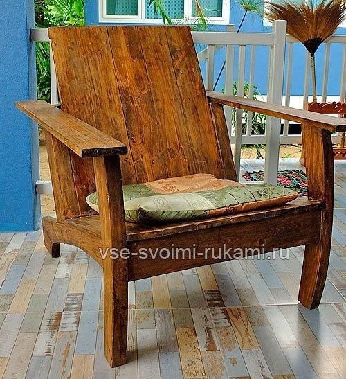 УДОБНОЕ ДАЧНОЕ КРЕСЛО кресло, Своими руками, длиннопост