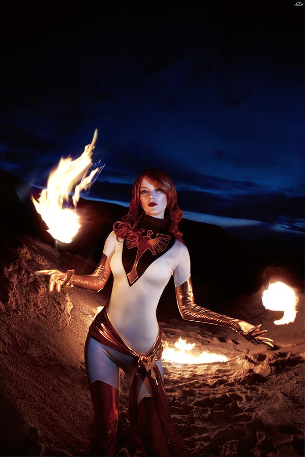 White Phoenix of the Crown Marvel, x-Men, Феникс, Jean Grey, Джин Грей, Люди Икс, Косплей, Русский косплей, Длиннопост