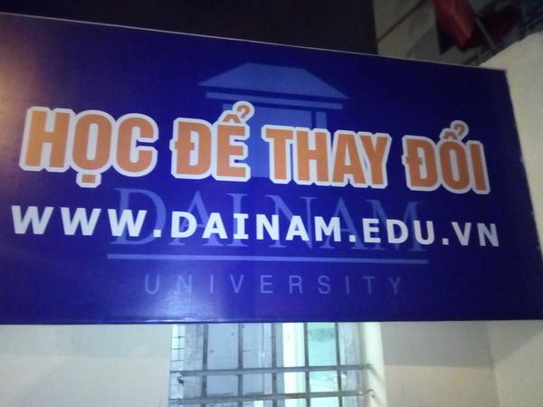 Адрес сайта университета в Ханое повеселил :)