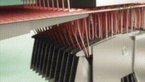 Текстильные гифки (20 шт., 92,8 Мб) Текстиль, Нитки, Игла, Станок, Вязание, Прошивка, Интересное, Гифка, Длиннопост