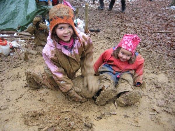 Лесной детский сад Детский сад, Лес, ЭкоСфера, Природа, Германия, Длиннопост
