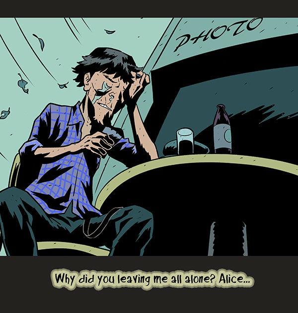 Воспоминание Комиксы, DarkBox, длиннопост, Out of Darkness