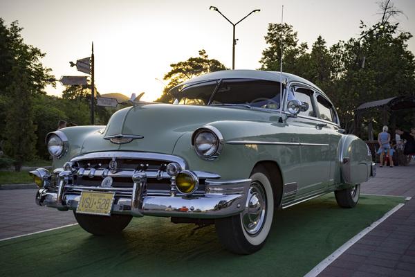 Chevrolet Styleline Deluxe 1950s Chevrolet, 50s, Ретроавтомобиль, Абрау-Дюрсо