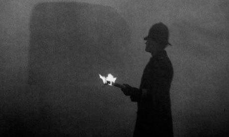 Смог в Лондоне Смог, Лондон, ЭкоСфера, Воздух, Экология, 1952, Длиннопост