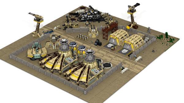 Lego Tiberium wars. Lego, LDD, Tiberium wars, Lego Digital Designer, Длиннопост