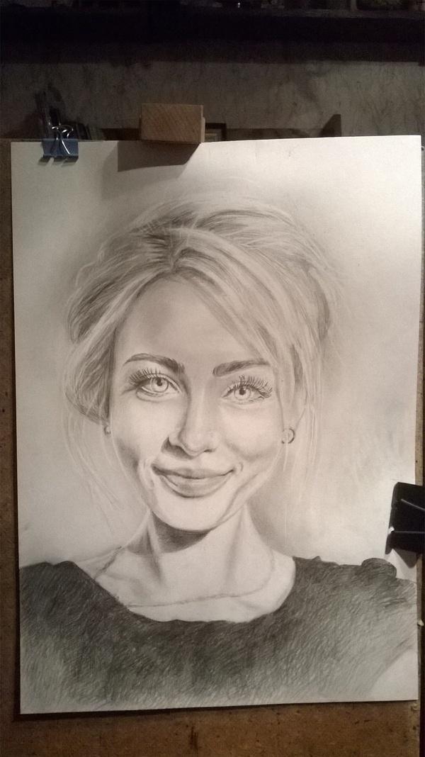 Мой рисунок с фото