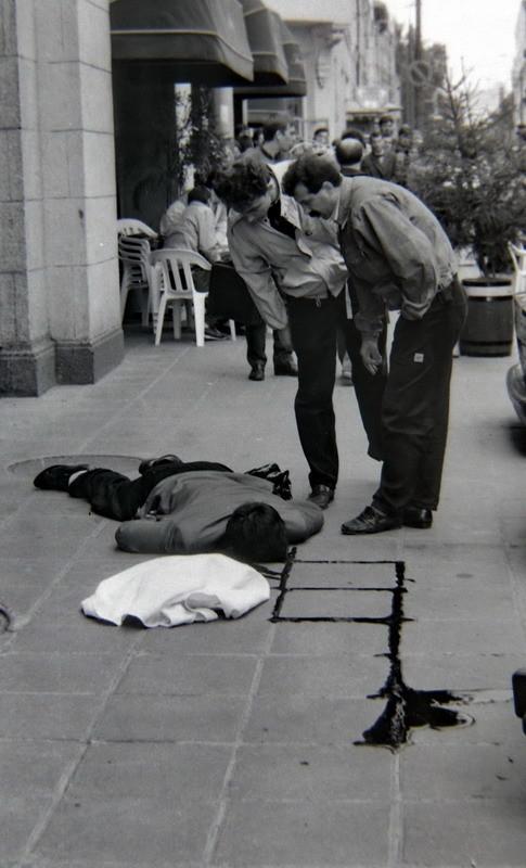 Москва в лихие девяностые 90-е, Фотография, Черно-Белое фото, Длиннопост