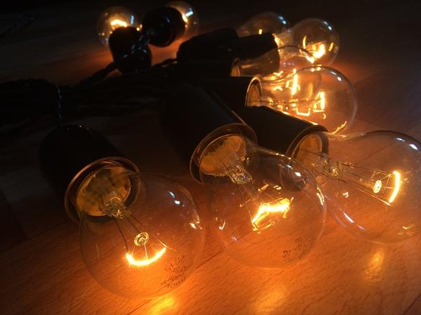 Ретро Гирлянда (длиннопост,фото) Своимируками, Моё, Ретро, Ретрогирлянда, Ламповое настроение, Лампа накаливания, Длиннопост, Своими руками