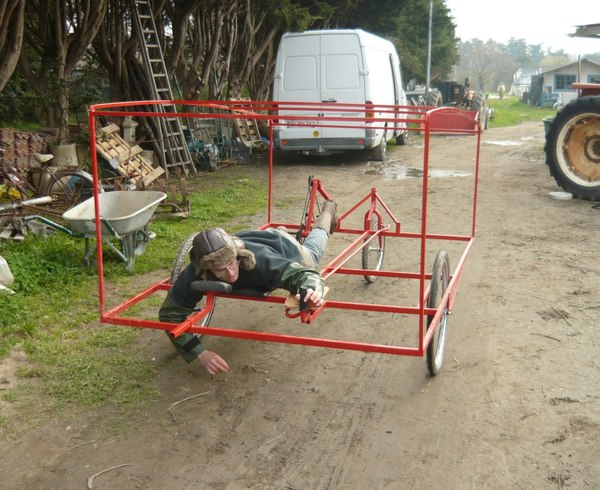 Велотрактор в огород Велосипед, ЭкоСфера, Огород, Ферма, Длиннопост, Изобретения, Видео
