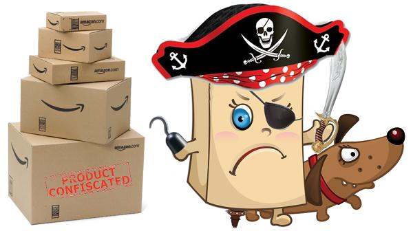 Логотип-пародия на известную фирму по доставке