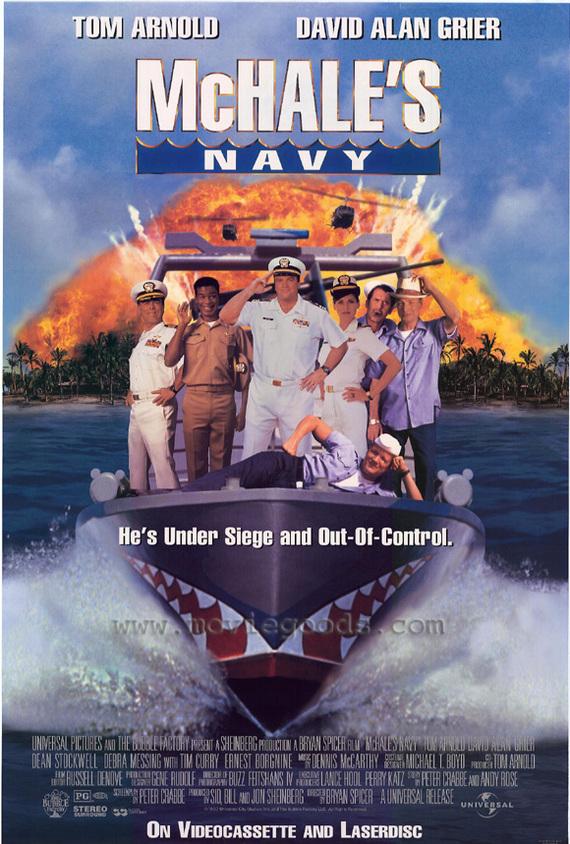"Советую посмотреть ""Флот МакХэйла \  McHale's Navy"" 1997 Советую посмотреть, Комедия"
