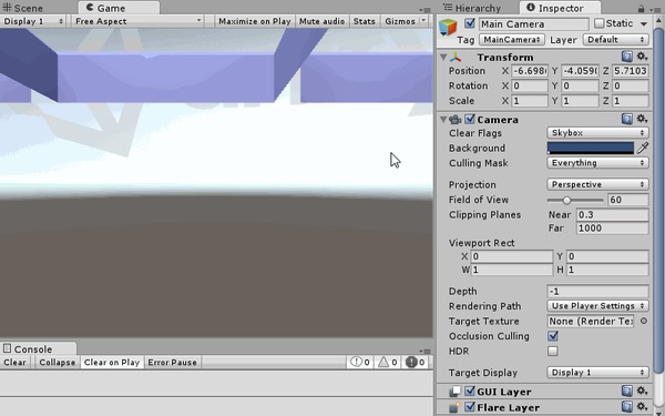 GTO-R StarterKit: Шаг 1 (Собираем сцену и простой контроллер персонажа) Gto-r, Gto-r StarterKit, Gamedev, Unity, Гифка, Длиннопост