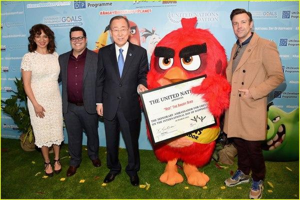 Красный посол ООН, Красный, ЭкоСфера, Angry Birds