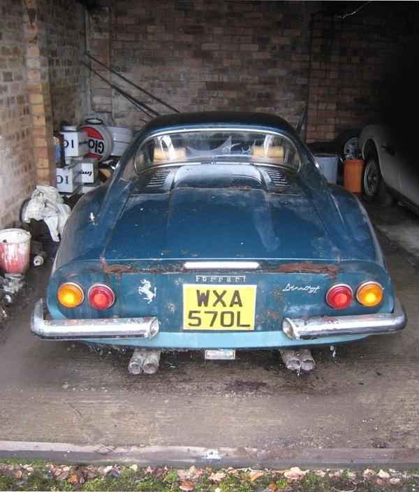 Ferrari 246GT Dino 1973 года и немного ржавчины. Barn find, Находка, Ferrari, 246gt, 1973, Перевод, Эксклюзив, Редкие авто, Длиннопост