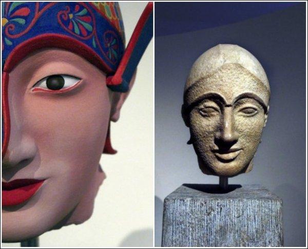 Оказалось, греческие статуи выглядели иначе История, Древняя греция, Статуя, Длиннопост