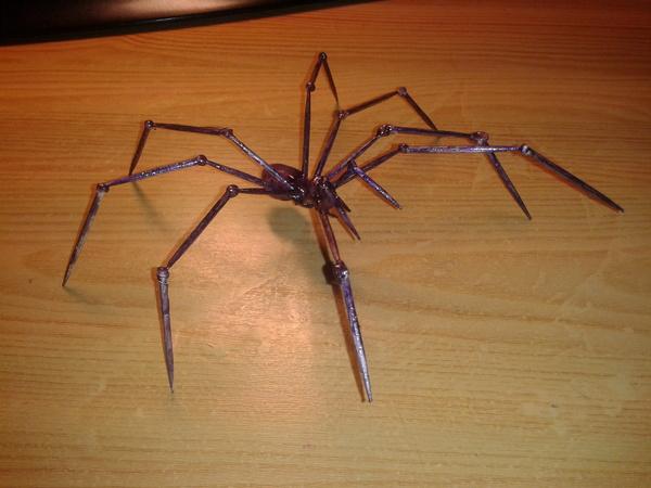 Немного рукоделия в честь пятницы паук, скорпион, рукоделие, творчество, пятница, термоклей, Зубочистки, длиннопост
