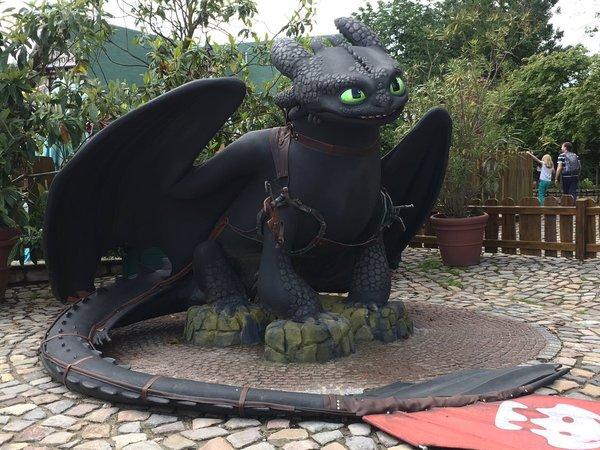 """Парк в стиле """"Как приручить дракона"""" DreamWorks, Httyd, Как приручить дракона, Длиннопост"""