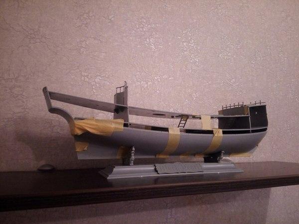 Черная Жемчужина модель 1/72 сборка Моделизм, Черная жемчужина, Длиннопост