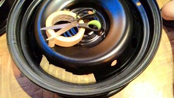 Покраска дисков (недофлипперы) Диски, Колесо, Покраска, Фото, Длиннопост, Авто
