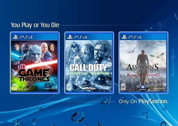 Играй или умри,новые эксклюзивы на PS4!