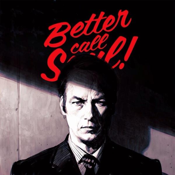 Better Call Saul Лучше звоните Солу, Breaking Bad, Илья Кувшинов, Арт, Сериалы