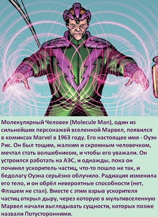 Факты о суперзлодеях: Молекулярный Человек Супергерои, Суперзлодеи, Marvel, Молекулы, Человек-Молекула, Комиксы-Канон, Длиннопост