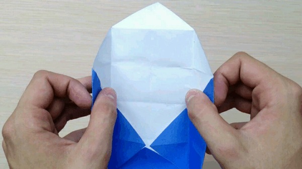 Оригами для чайников 7: Коробочка масу Оригами, Длиннопост, Коробка, Масу, Гифка