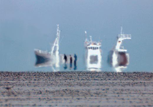 Фата-моргана. Удивительная оптическая иллюзия. Мираж, Фата-Моргана, Иллюзия, Длиннопост, Видео