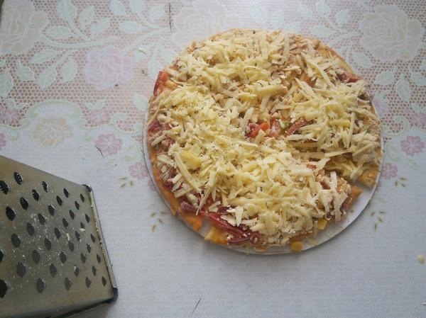 Как я быстро готовлю пиццу ) Пицца, Рецепт, Длиннопост