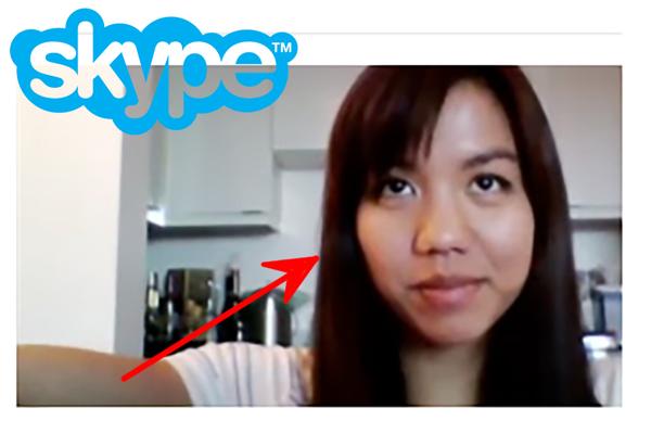 """Как убрать эту  бабу из """"скайпа"""" Skype, Файлообменники, Женщина, Windows"""