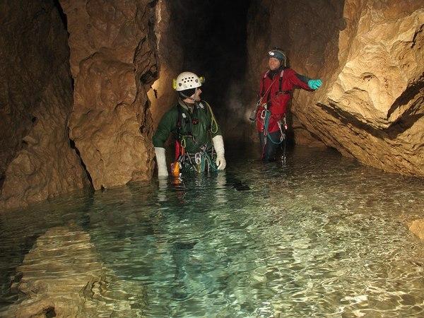 Суровые условия подземного мира. Спелеология, Пещера, Снежное, Длиннопост