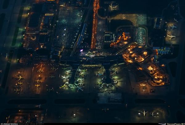 Ночное Домодедово