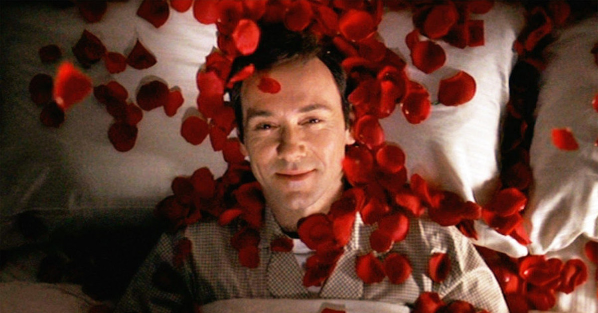 the visoe imageries used in the film american beauty Critical analyse of american beauty the film is an allegory for american culture at this point in time therefore themes such as intoxication.