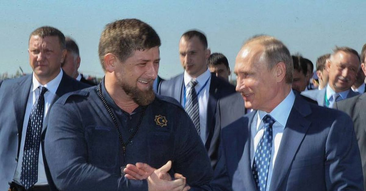 Кадыров уснул во время речи Путина фото