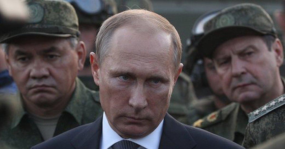 Злой Путин (после поимки украинских террористов)   Пикабу