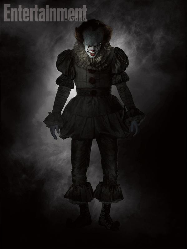 Журнал Entertainment Weekly опубликовал первое промо клоуна Пеннивайза в грядущей экранизации книги Кинга