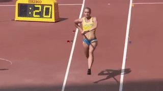 Дамы и господа, разрешите представить: Michaela Meijer, шведская прыгунья с шестом