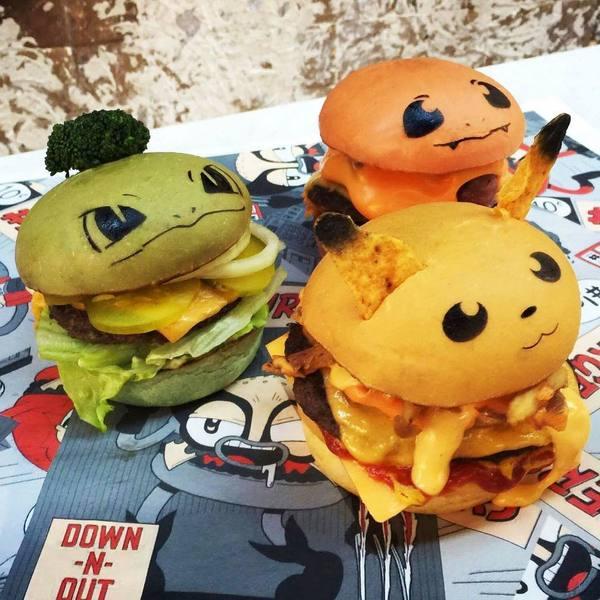 А вот и съедобные покемоны Покемоны, Еда, Бургер, Pokemon GO