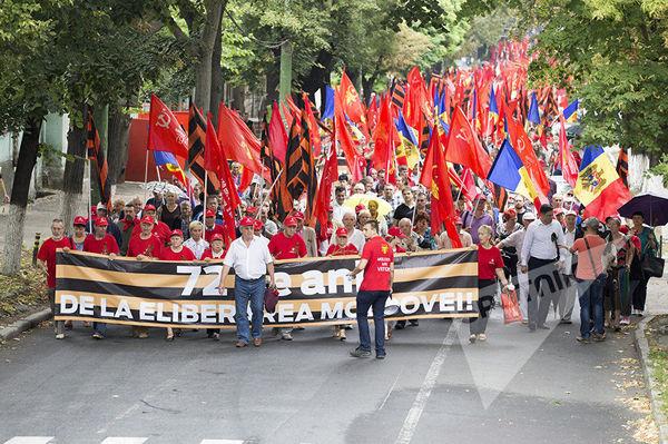 В Молдавии отметили день освобождения от фашизма Молдова, день освобождения, длиннопост