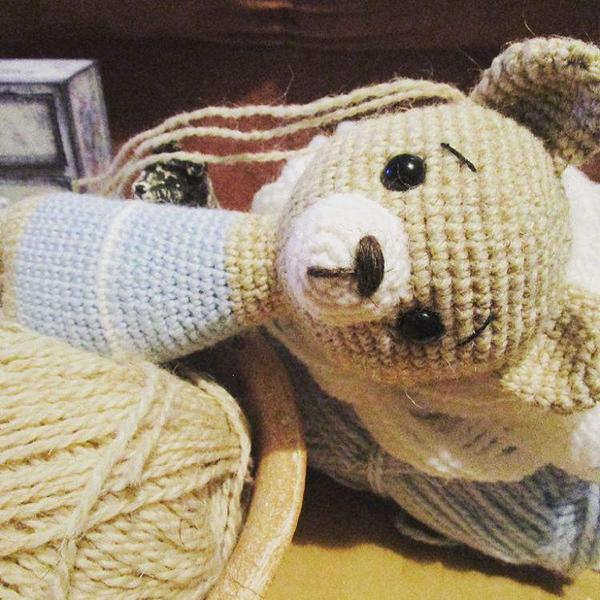Создание мишутки Медведь, Игрушки, Своими руками, Рукоделие, Амигуруми, Милота, Няша, Подарок, Длиннопост