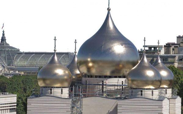 Новая русская церковь в Париже Франция, Париж, Путин, Россия, Россия и Европа