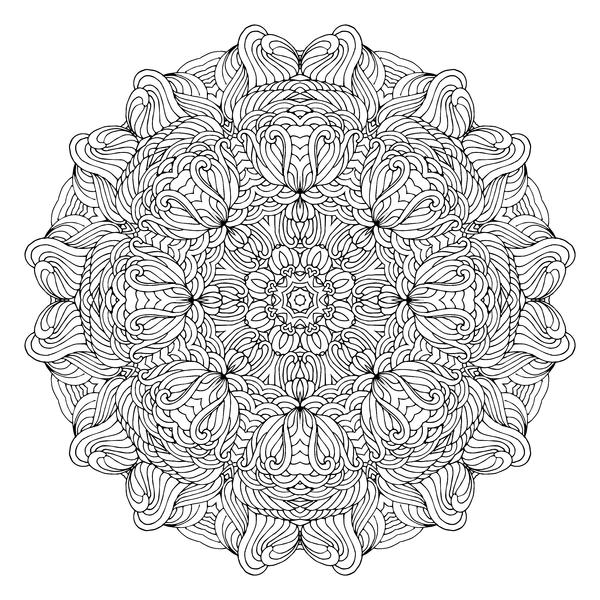 Раскраски-антистресс :) Мандала, Рисунок, Творчество, Раскраска, Моё, Длиннопост